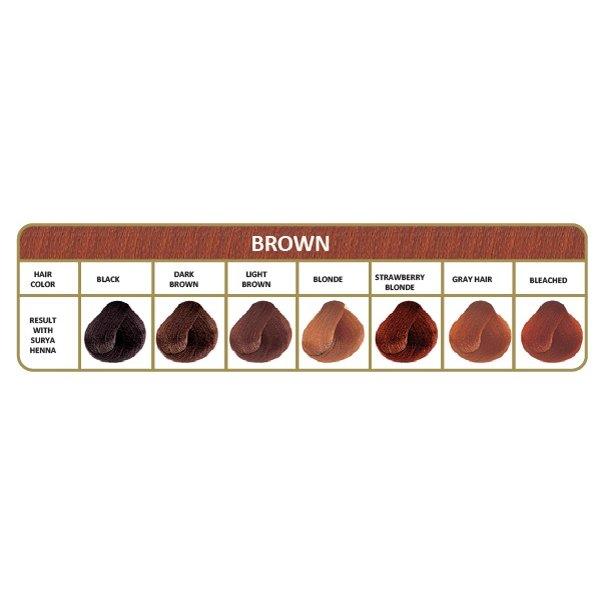 Henna haarverf Bruin