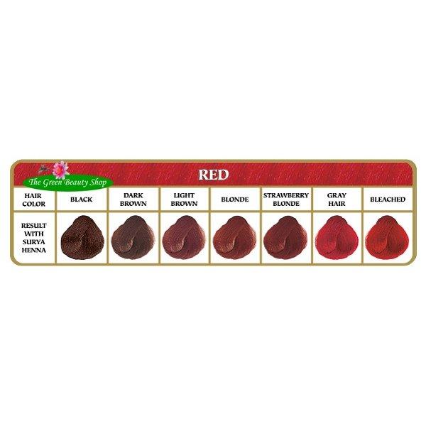 Henna haarverf Rood