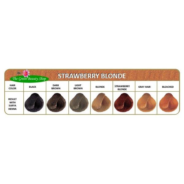 Henna haarverf Roodblond