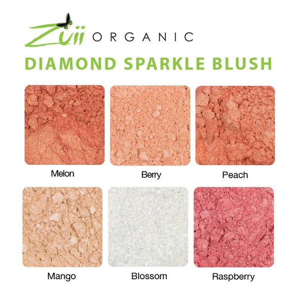 Flora Diamond Sparkle Blush Berry
