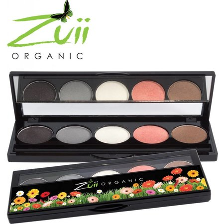 Zuii Organic Oogschaduw Palette Glamour