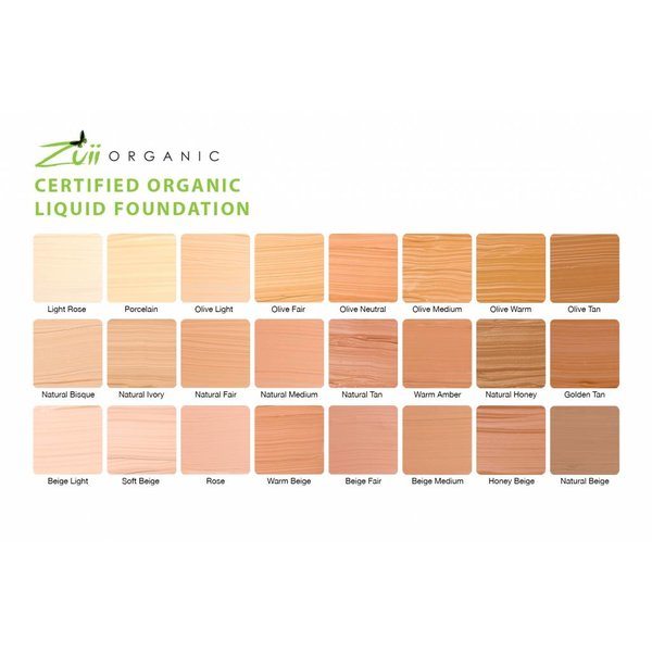 Vloeibare Foundation Olive Tan
