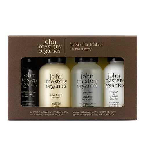 John Masters Organics Essential Trial Set for Hair & Body