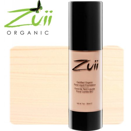 Zuii Organic Liquid Foundation Light Rose