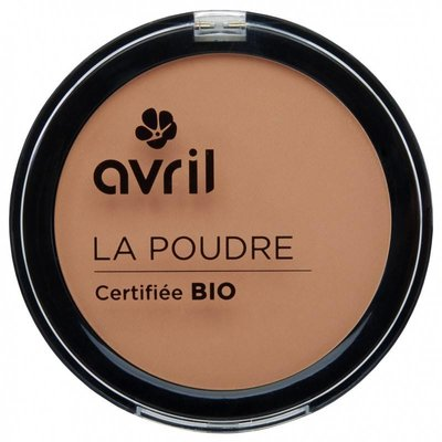 Avril biologische compact poeder foundation abricot