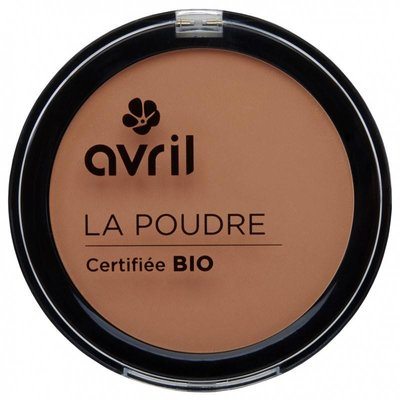 Avril biologische compact poeder foundation cuivre