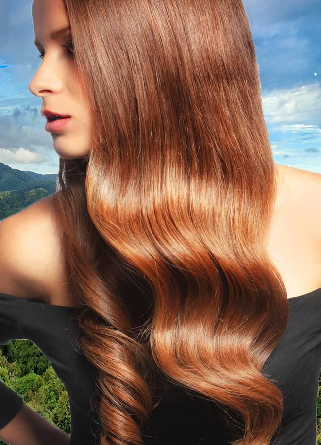 natuurlijke biologische haarstyling