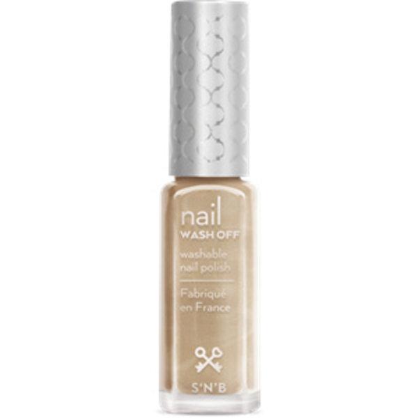 Wash Off Zilver-Gouden Glitter Glam Nagellak