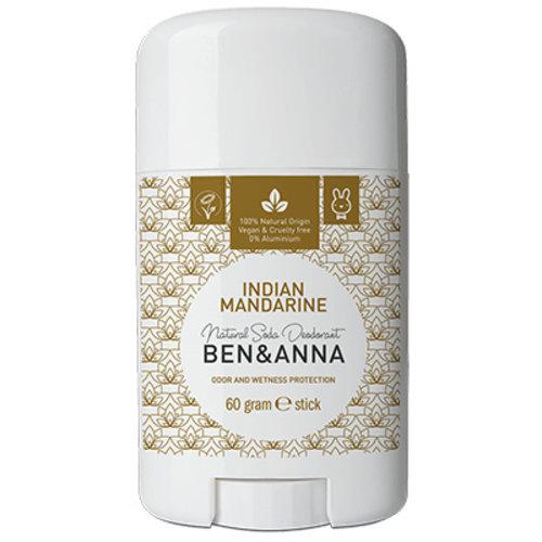 Ben & Anna Deodorant stick Indian Mandarine