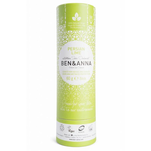 Natuurlijke Eco Deo Stick Persian Lime