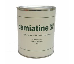 Damiatine PU/AC zijdeglans waterbasis