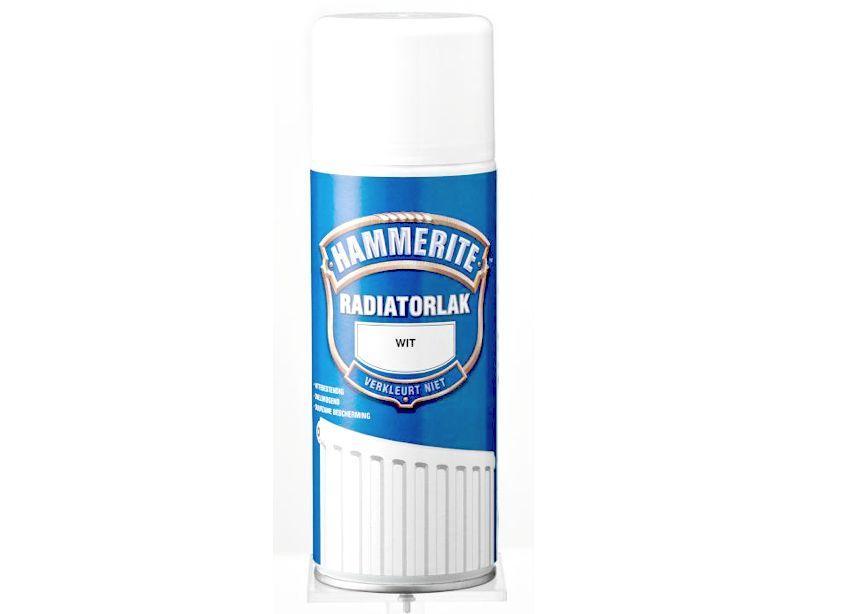 Hammerite hammerite radiatorlak spuitbus verf goedkoper for Action muurverf