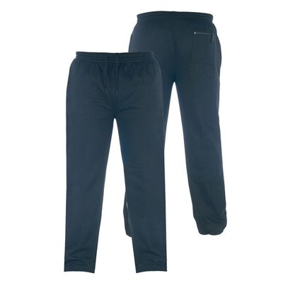 Duke/D555 Joggingbroek KS1418 zwart 4XL