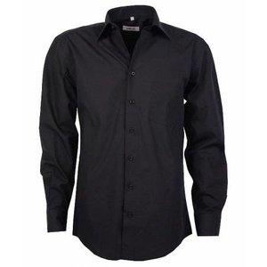 Arrivee Arrivee hemd LM zwart 53/54 6XL