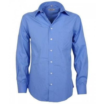 Arrivee Arrivee hemd LM blauw 49/50 4XL