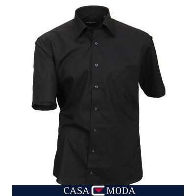 Casa Moda shirt black 8070/80 - 5XL / 52
