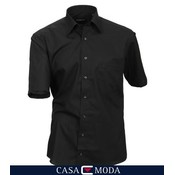 Casa Moda shirt black 8070/80 - 7XL / 55-56