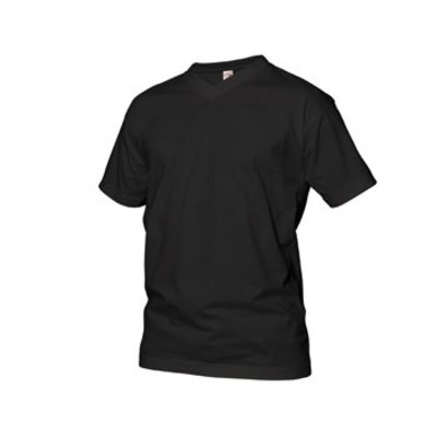 GCM sports T-Shirt V-Neck black 6XL
