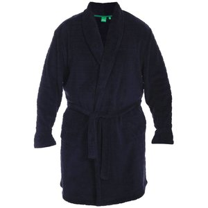 Duke/D555 Bathrobe KS19002 Navy 4XL