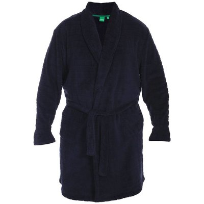 Duke/D555 Bathrobe KS19002 Navy 5XL