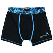 Replika Boxershort 99794 black 7XL