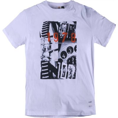 Replika 51330/000 white T-shirt 2XL / LT