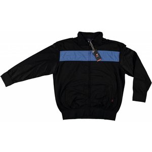 Maxfort Track jacket blue / black 3XL