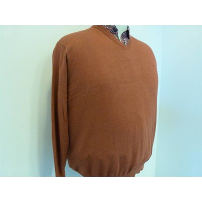 Casa Moda V-neck sweater 004130/490 3XL