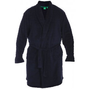 Duke/D555 Bathrobe KS19002 Navy 6XL