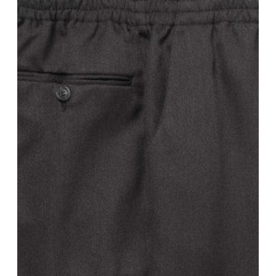 Luigi Morini Elastische broek Amberg grijs Maat 30