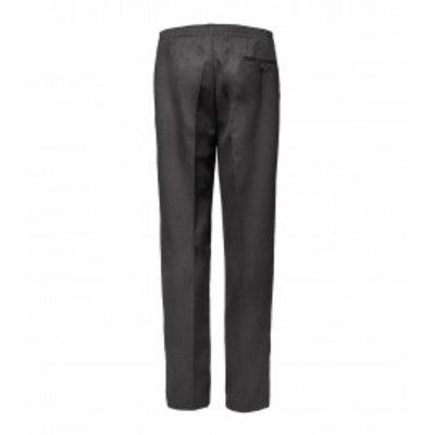 Luigi Morini Elastische broek Amberg grijs Maat 32