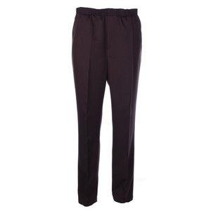 Luigi Morini Elastische broek Amberg donker bruin Maat 29