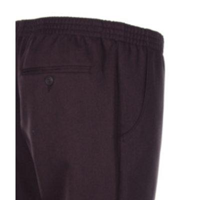 Luigi Morini Elastische broek Amberg donker bruin Maat 30