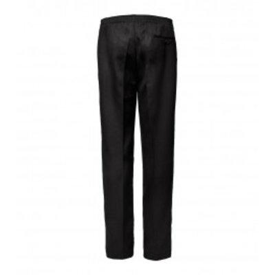 Luigi Morini Elastische broek Amberg zwart  Maat 31
