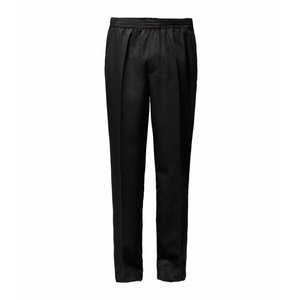 Luigi Morini Elastische broek Amberg zwart  Maat 32