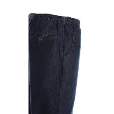 Luigi Morini Elastische jeans broek Amberg blauw Maat 29