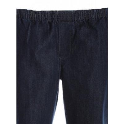 Luigi Morini Elastische jeans broek Amberg blauw Maat 33