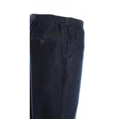 Luigi Morini Elastische jeans  Amberg blue Size 33