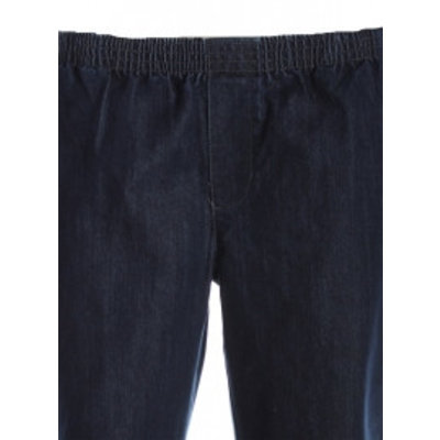 Luigi Morini Elastische jeans broek Amberg blauw Maat 34