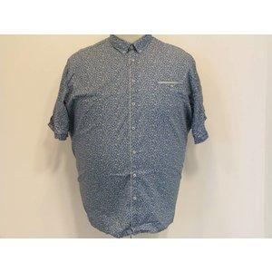 Lerros Overhemd 28221161 groen 2XL