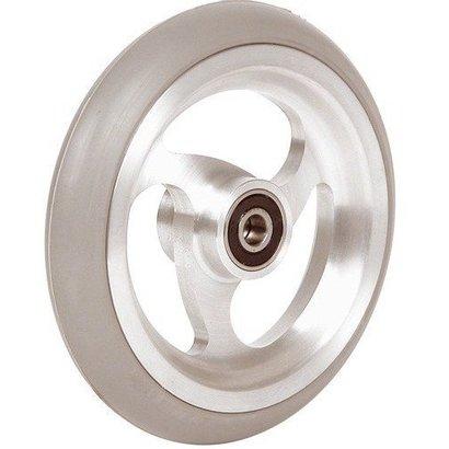 125x22 (5x1) Wiel Scootmobiel/Rolstoel/Rollator aluminium