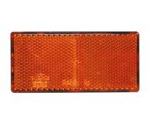 Reflector oranje met kleeflaag