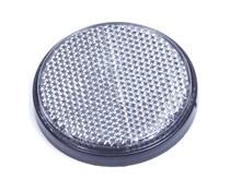 Reflector grijs met kleeflaag