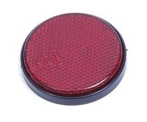 Reflector rood met kleeflaag