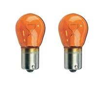 24 volt 21 watt oranje bajonet lamp (2 st)