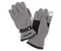 Verwarmde fleece handschoen Basic - batterijen / heatpax