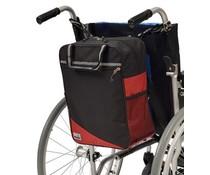Rugleuningtas Wheely rood/zwart