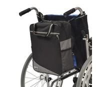 Rugleuningtas Wheely grijs/zwart