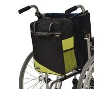 Rugleuningtas Wheely groen/zwart