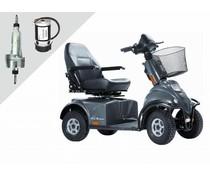 Revisie van motor en aandrijving Minicrosser scootmobiel